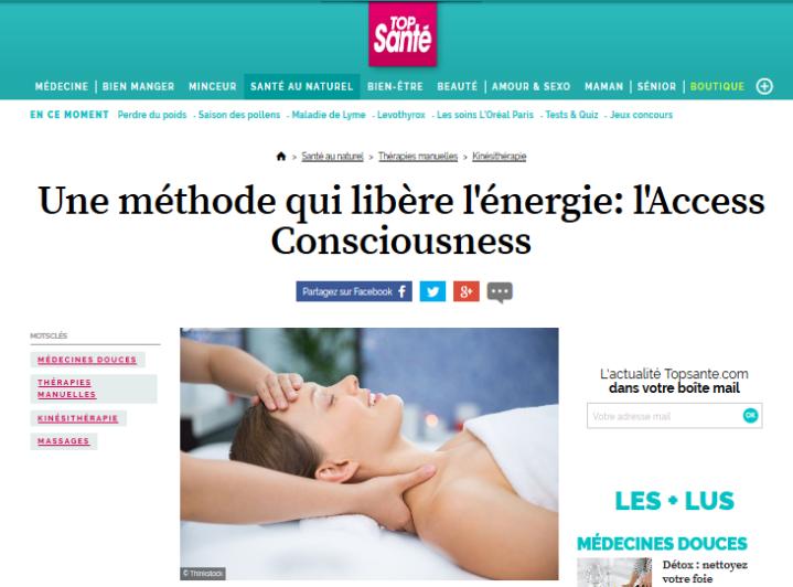Bandeau article top santé